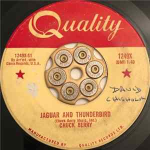 FLAC Chuck Berry - Jaguar And Thunderbird / Our Little Rendezvous